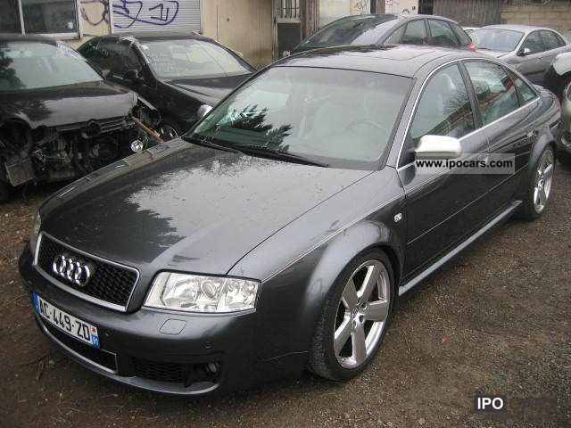 2003 audi rs6 quattro tiptronic 4 2 v8 a car photo and specs. Black Bedroom Furniture Sets. Home Design Ideas