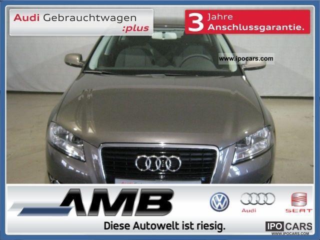 2011 Audi  A3 Sportback 1.4 TFSI BOSE / MFL / Bluetooth / SHZ / Dac Limousine Employee's Car photo