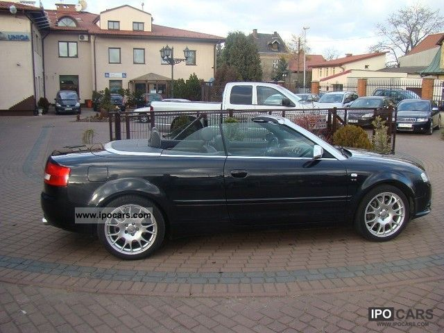 2006 audi s4 convertible full car photo and specs. Black Bedroom Furniture Sets. Home Design Ideas