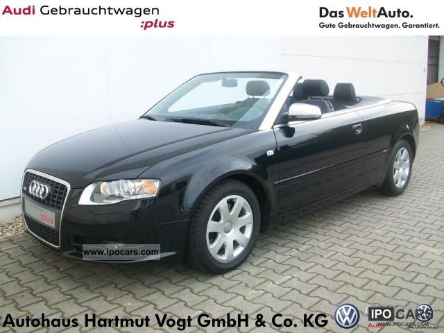 2007 Audi A4 Cabriolet 18 T Xenon Bose Navi Car Photo And Specs
