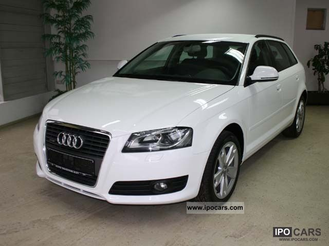 2010 audi a3 sportback 2 0 tdi ambition xenon car photo and specs. Black Bedroom Furniture Sets. Home Design Ideas
