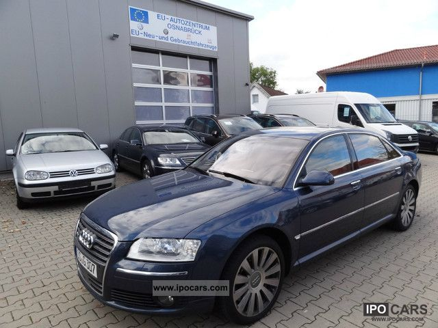2005 Audi  A8 6.0 W12 LONG FULL TV / NAVI / RADAR / LEATHER Limousine Used vehicle photo