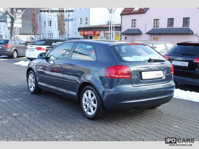 2009 audi a3 2 0 tdi ambiente xenon ahk leather car photo and specs. Black Bedroom Furniture Sets. Home Design Ideas