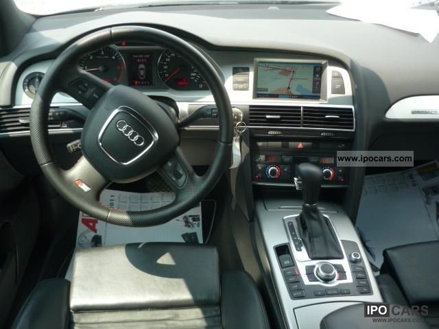 2008 Audi A6 30 TDI quattro SLine Navi Tiptr   Xenon  19Lm