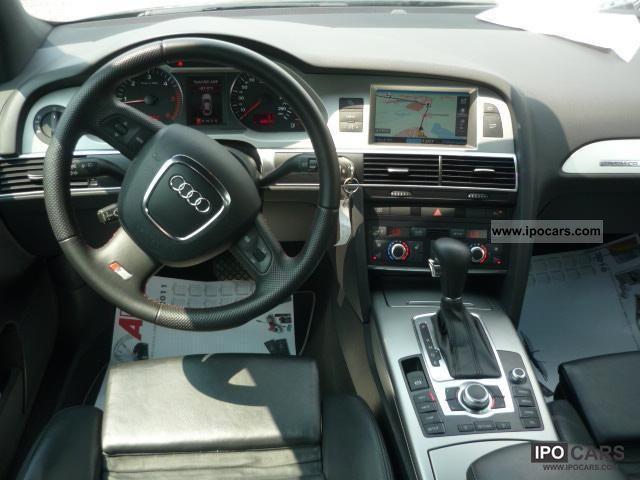 2008 Audi A6 3 0 Tdi Quattro S Line Navi Tiptr Xenon 19lm Car Photo And Specs