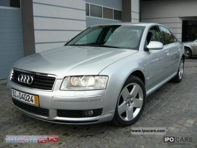 2004 audi a8 quattro full opcja car photo and specs. Black Bedroom Furniture Sets. Home Design Ideas