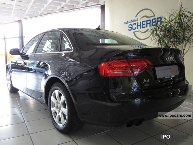 2008 audi a4 saloon 1 8 tfsi ambience car photo and specs. Black Bedroom Furniture Sets. Home Design Ideas