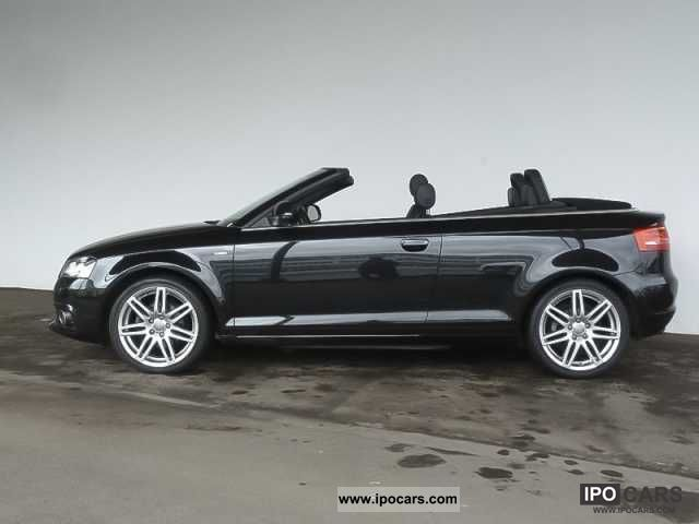 2008 audi a3 cabriolet 2 0 tdi s line s line car photo and specs. Black Bedroom Furniture Sets. Home Design Ideas