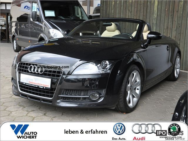 2007 Audi  TT Roadster 3.2 quattro S tronic LEATHER / NAVI Cabrio / roadster Used vehicle photo