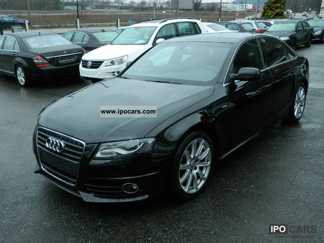 2009 audi a4 2 7 tdi multitronic s line sports package pl car photo and specs. Black Bedroom Furniture Sets. Home Design Ideas