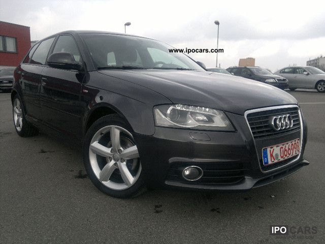 2009 audi a3 2 0 tdi sportback s line package dpf exterior car photo and specs. Black Bedroom Furniture Sets. Home Design Ideas