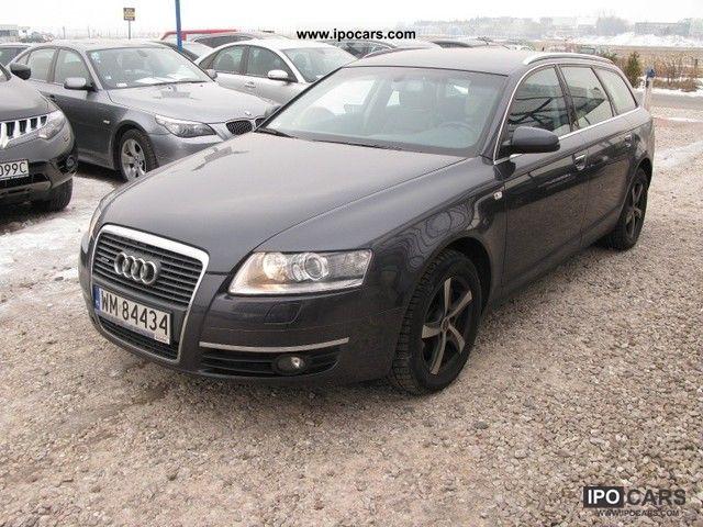 2007 Audi  A6 DIESEL! QUATTRO! FA VAT! SERWIS W ASO! Estate Car Used vehicle photo