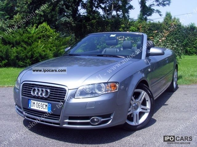 2007 audi a4 cabriolet 2 0 tdi f ap car photo and specs. Black Bedroom Furniture Sets. Home Design Ideas