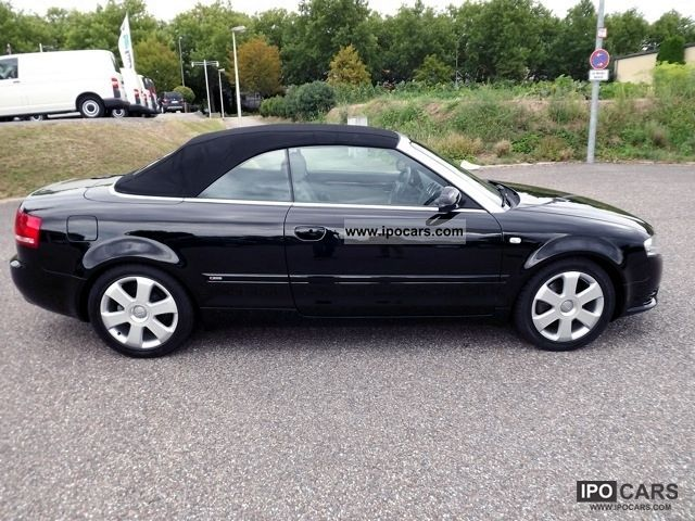 2006 audi a4 cabriolet 3 0 fsi tiptronic s line quatro. Black Bedroom Furniture Sets. Home Design Ideas