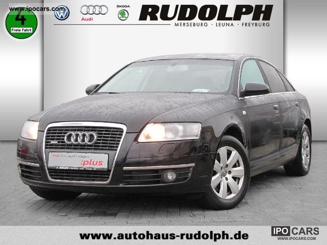 2006 Audi  A6 Saloon 2.7 TDI Quattro Navigation XENON Limousine Used vehicle photo