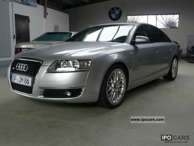 2006 audi a6 3 2 fsi quattro s line multitronic car photo and specs. Black Bedroom Furniture Sets. Home Design Ideas