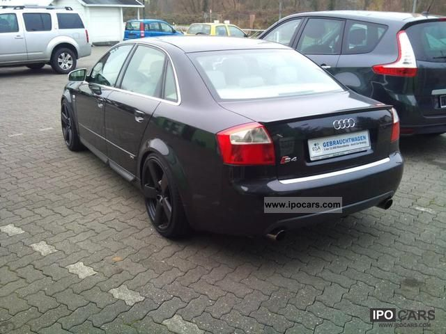 2002 Audi S4 Car Photo And Specs