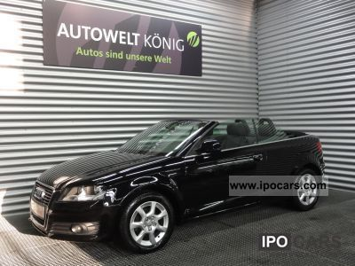 2008 Audi  A3 Cabriolet 1.9 TDI Attraction Cabrio / roadster Used vehicle photo