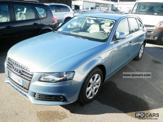 2008 audi a4 av 2 0 tdi multitr fap car photo and specs. Black Bedroom Furniture Sets. Home Design Ideas