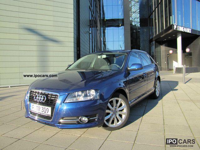 2010 Audi  A3 2.0 TDI Sportback DPF atmosphere climate control Estate Car Used vehicle photo