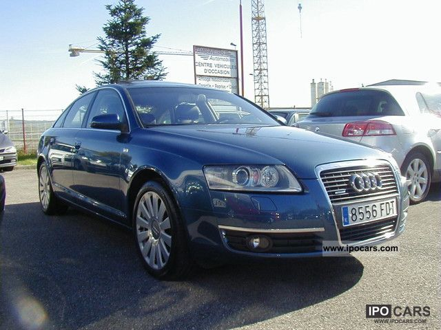 2006 audi fsi quattro a6 4 2 v8 350 ambition luxe tiptroni car photo and specs. Black Bedroom Furniture Sets. Home Design Ideas