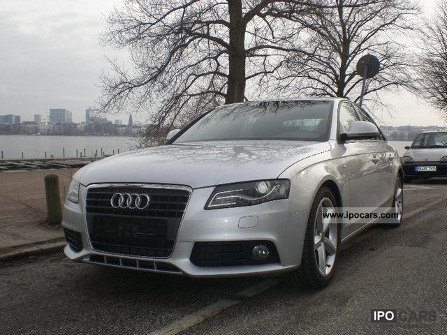 2008 audi a4 2 0 tfsi s line sports package plus navi. Black Bedroom Furniture Sets. Home Design Ideas