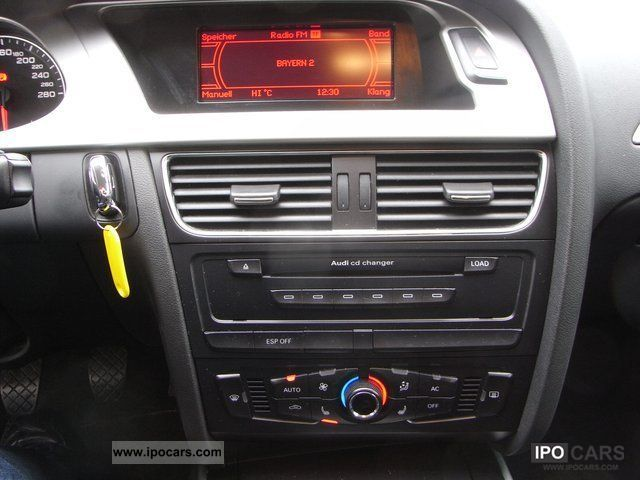 2008 audi a4 s line navi xenon plus ambience sound system car photo and specs. Black Bedroom Furniture Sets. Home Design Ideas