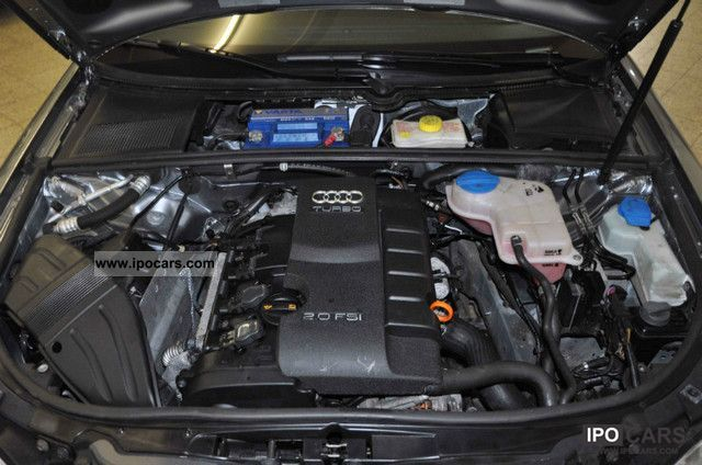 2008 Audi A4 2 0 T Fsi Quattro Tiptronic Car Photo And Specs