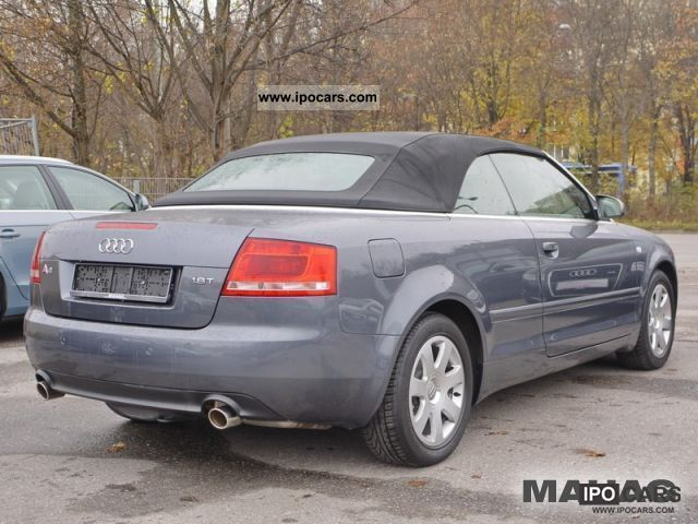 2008 audi a4 cabriolet 1 8 t let sitzhz leather pdc 5. Black Bedroom Furniture Sets. Home Design Ideas