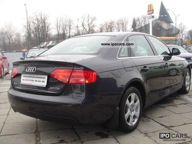 2008 audi a4 100 bezwypadkowy salonowy car photo and specs. Black Bedroom Furniture Sets. Home Design Ideas