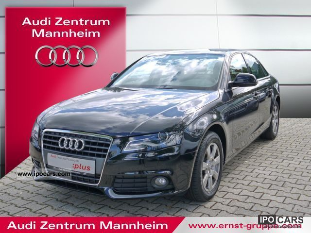 2009 audi a4 saloon 2 0 tdi ambiente car photo and specs. Black Bedroom Furniture Sets. Home Design Ideas