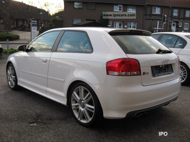 2007 audi s3 bose xenon white car photo and specs. Black Bedroom Furniture Sets. Home Design Ideas