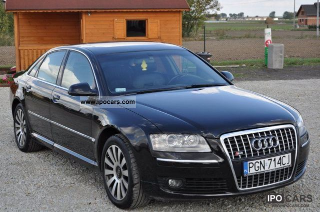 2003 Audi  A8 4.0 DIESEL FULL QUATRO OPCJA Limousine Used vehicle photo