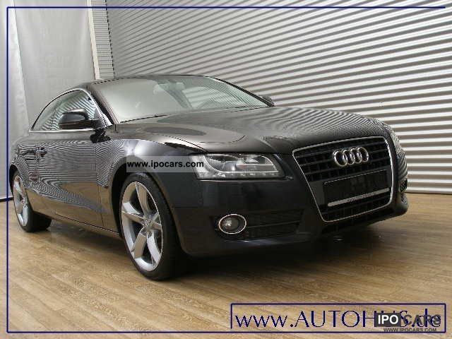 2009 audi a5 2 7 tdi navi xenon pdc alu car photo and specs. Black Bedroom Furniture Sets. Home Design Ideas