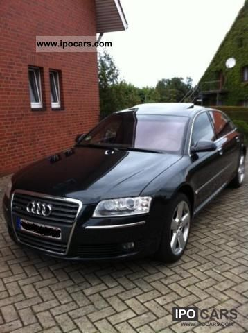 2004 Audi  A8 6.0 Quattro LANG1-hand Vollausst. NP: 162587Eu Limousine Used vehicle photo