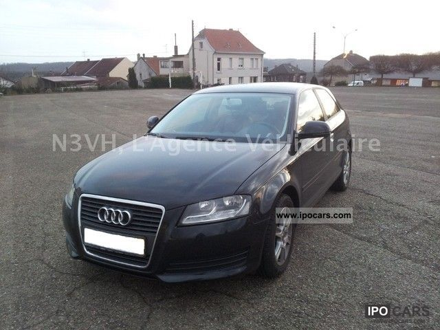 2009 audi a3 2 0 tdi 140 dpf ambition car photo and specs. Black Bedroom Furniture Sets. Home Design Ideas