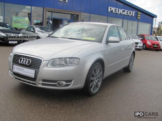 2007 Audi  A4 2.0 4trg., NAVI XENON CD ALU Limousine Used vehicle photo