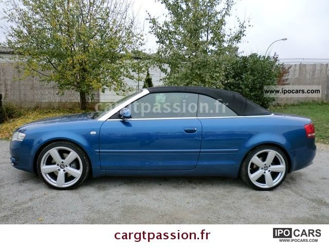 2007 audi a4 cabriolet 2 7 v6 tdi car photo and specs. Black Bedroom Furniture Sets. Home Design Ideas