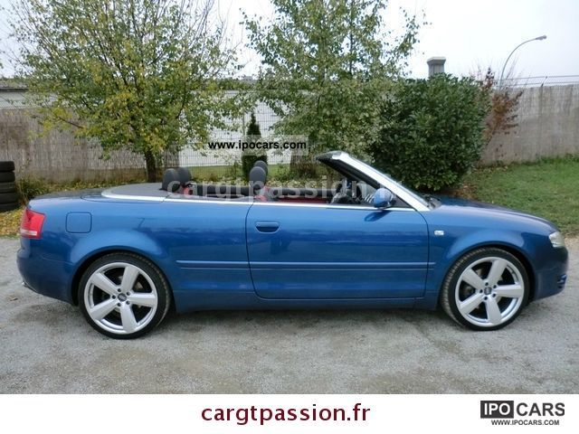 2007 audi a4 cabriolet 2 7 v6 tdi car photo and specs. Black Bedroom Furniture Sets. Home Design Ideas