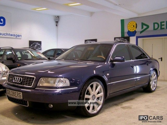 2003 Audi  A8 6.0 tiptr.quattro, Sport Package 20, heater Limousine Used vehicle (business photo