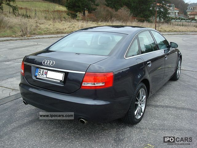 2007 audi a6 4 2 fsi quattro tiptronic car photo and specs. Black Bedroom Furniture Sets. Home Design Ideas
