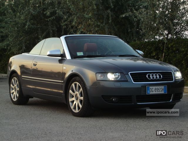 2007 audi a4 cabriolet 2 5 tdi full car photo and specs. Black Bedroom Furniture Sets. Home Design Ideas
