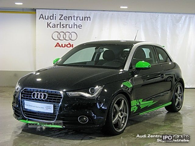 2010 audi a1 1 4 s tronic ambition xenon air car photo. Black Bedroom Furniture Sets. Home Design Ideas