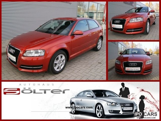 2011 Audi  A3 1.8 TFSI Attraction, PDC, Climate control air Limousine Used vehicle photo