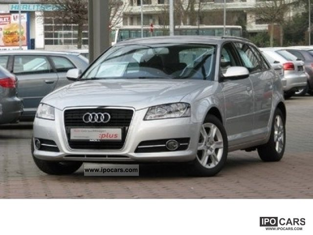 2011 Audi  A3 SPB. 1.6 TDI CR F.AP. Attraction Limousine Used vehicle photo