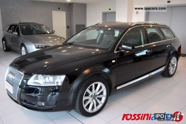 2008 Audi Allroad A6 3 0 Tdi V6 Tiptronic Quattro 233 Cv F Car Photo And Specs