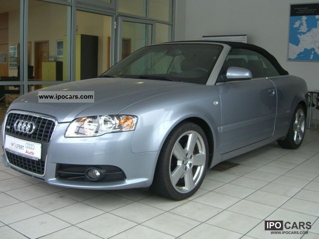 2006 audi a4 cabriolet 2 0t multitronic s line exterior p. Black Bedroom Furniture Sets. Home Design Ideas