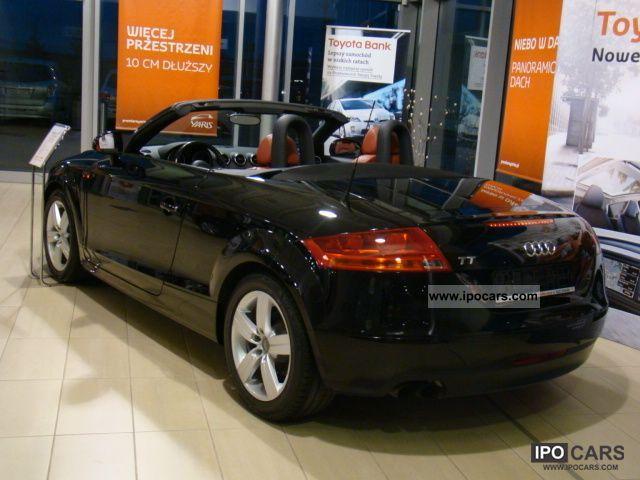 Keystone Kia Used Cars >> 2008 Audi TT 2.0 TFSI leather Climatronic - Car Photo and Specs