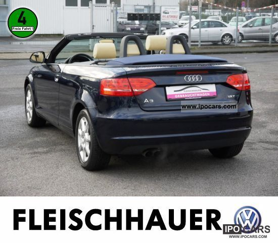 2008 Audi A3 Convertible 1.8 TFSI Attraction LEATHER