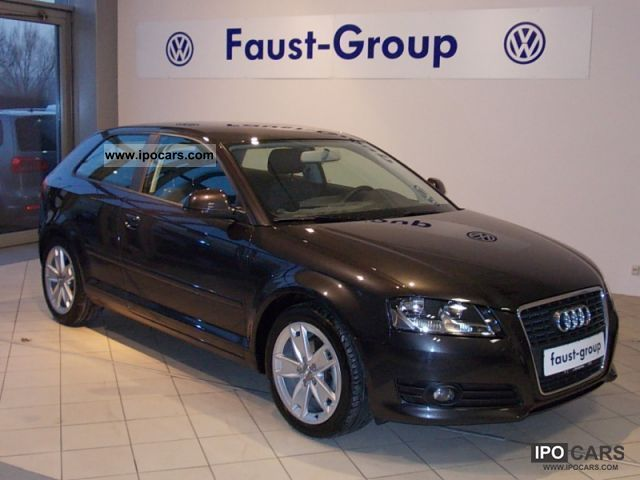 2009 Audi  A3 Ambition AHK Very nice (air) Limousine Used vehicle photo